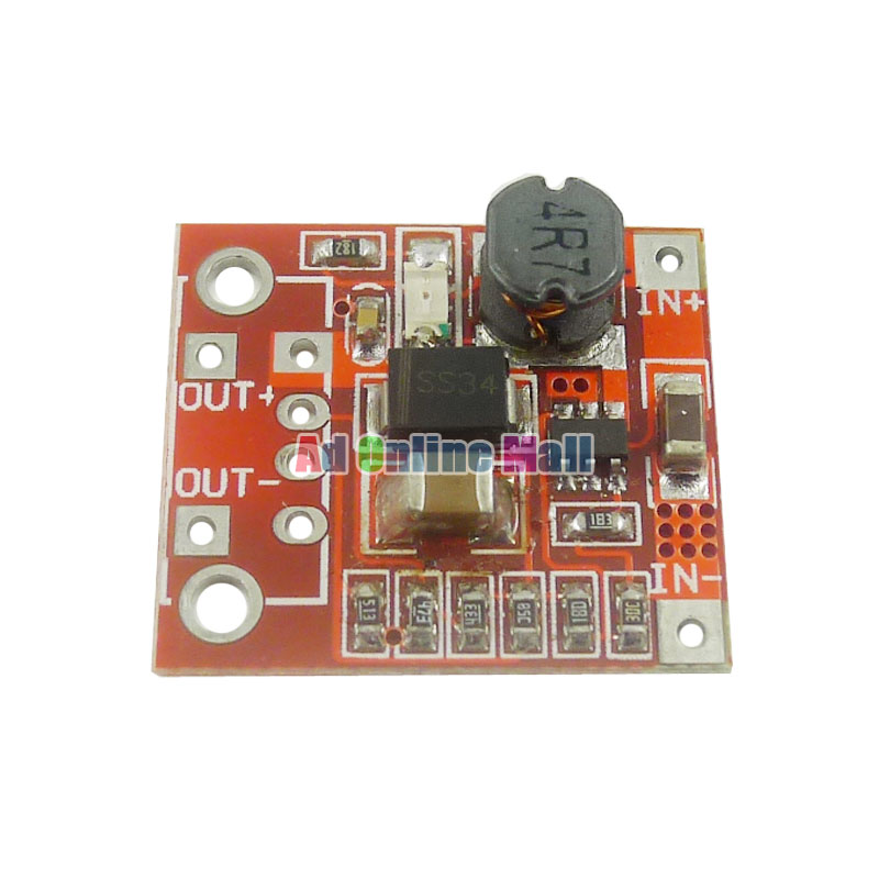 10pcs Lot Dc Mobile Power Supply Ultra Small Boost Circuit Board Charger 3v To 5v 1a For