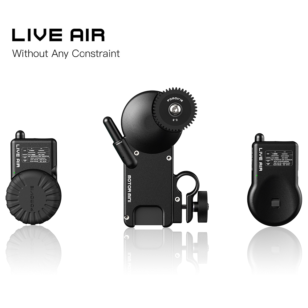 Newest NEW PDMOVIE LIVE AIR PDL-AF And PDL-AZ Bluetooth Wireless Follow Focus System For Gimbal or SLR Camera Lens and so on printio kids live newest