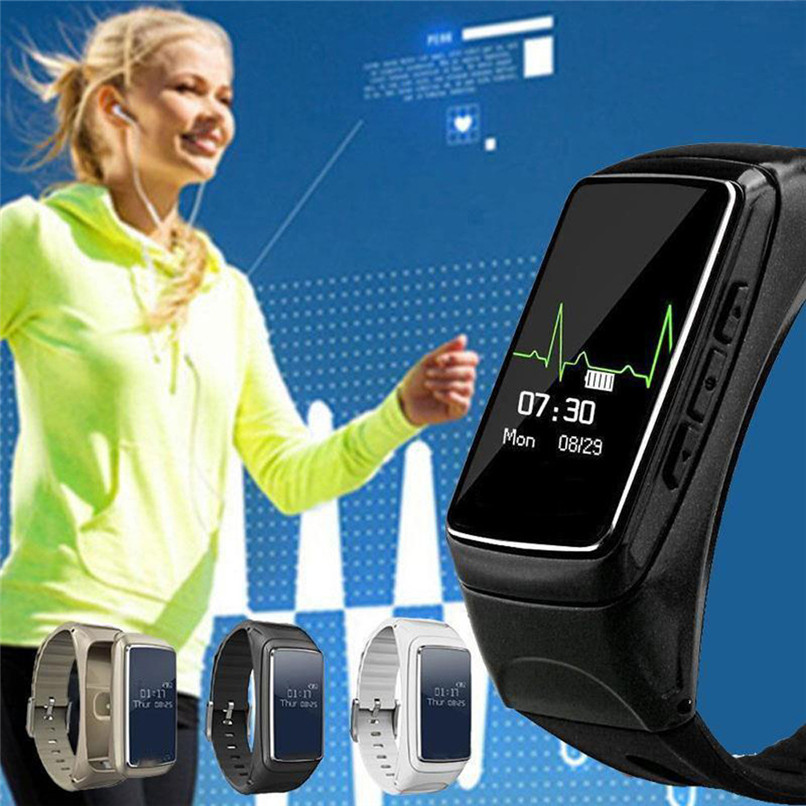 New Arrivals Universal Smart Watches Monitor Pedometer Fitness Wristband Bracelet Free Shipping NOM17