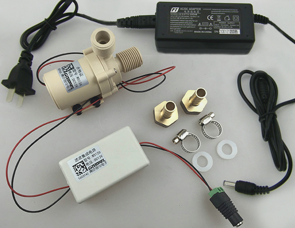 0d8bda5c0e7 High Temperature Resistance DC 12V Hot Cooling Water Circulation Pump  Brushless Motor Water Pump Food Grade