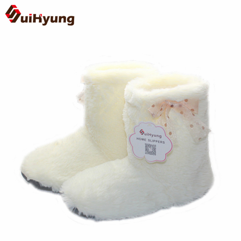 Free Shipping Winter New Male Female Couple Cotton Shoes Simple Plush Warm Indoor Boots Non-slip Soft Bottom Shoes Home Floor winter new women s warm cotton shoes snowflake deer pattern indoor shoes soft bottom non slip floor home slipper