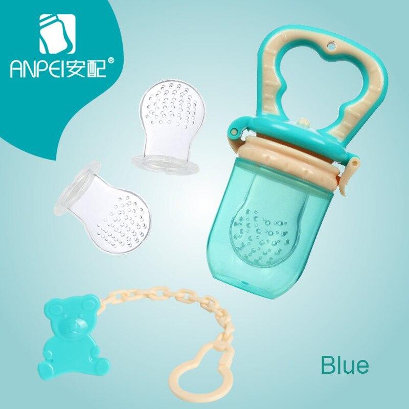 New Baby Pacifier Fresh Food Milk Nibbler Feeder Kids Fruit Nipple Feeding Safe Baby Supplies Nipple Teat Pacifier Bottles