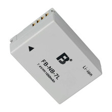 NB-7L NB7L lithium batteries NB 7L Digital camera battery For Canon G10 G11 G12 SX30IS SX30 IS