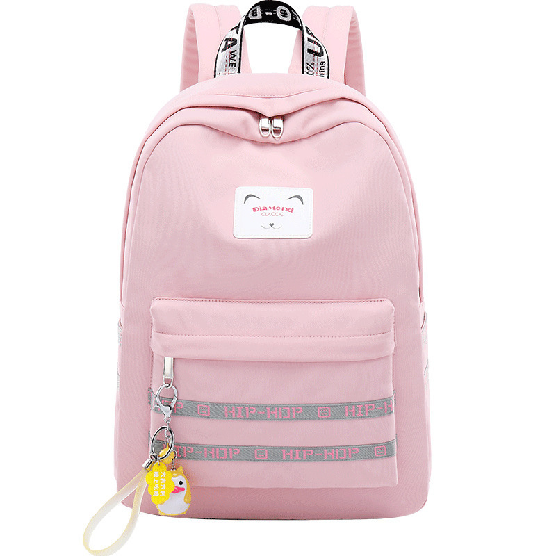 Girls Campus Trend Backpacks Book Bags For Teenagers Middle School College Students Schoolbag Girl Ergonomic Backpack With Usb