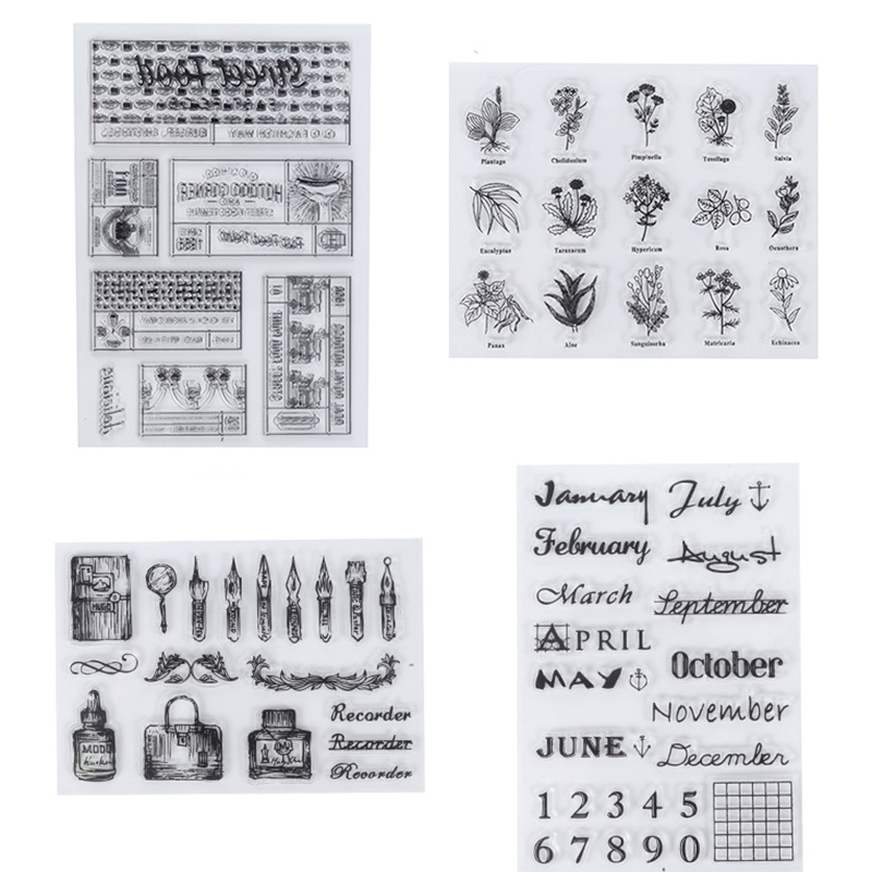 Multi style Transparent Stamp Seal Stationery Making Seals Practical DIY Handcraft Scrapbooking Photo Album Decoration Stamps|Stamps|   - AliExpress