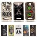 Protective Soft TPU Case For Lenovo A2010 a2010 Silicon Back Cover Shell case for lenovo A 2010 cases Animal Cat Panda Owl print