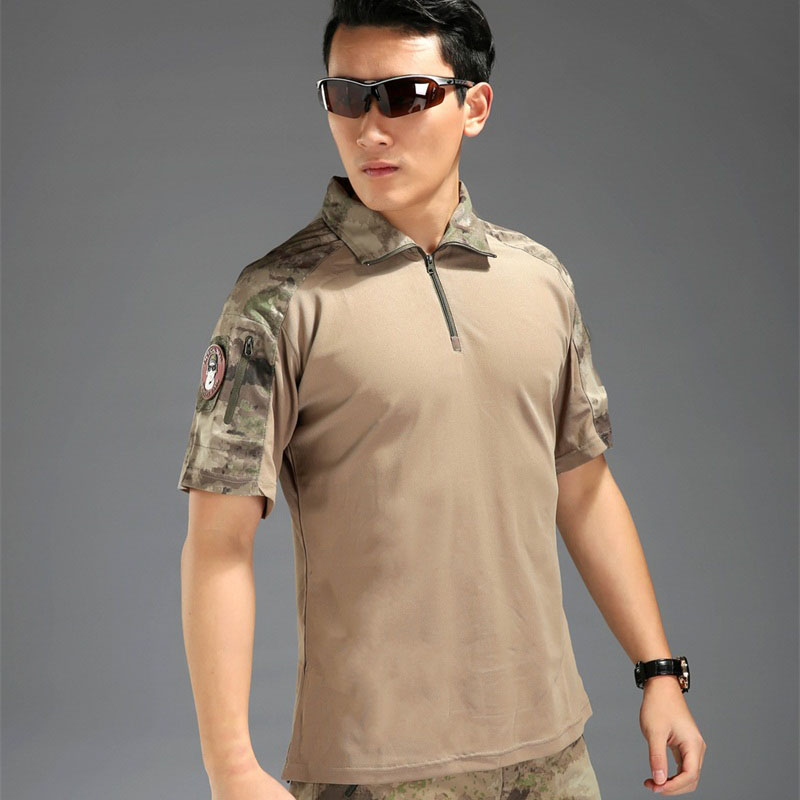 Actas Man Frog short sleeve shirt Tactical TDU Rapid Assault Shirt Multicam Short Sleeve Typhon Mandrake Highlander