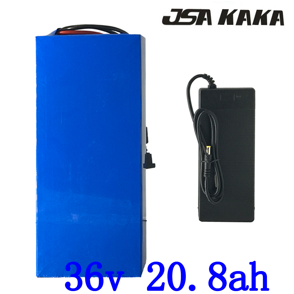 Free customs tax 36V Lithium battery 36V 10ah 13ah 15ah 20ah electric bike battery 36V500W 1000W scooter battery with 2A charger