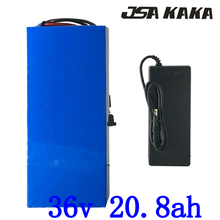 36 v 20ah 1000 w электрический велосипед батарея 36 v 20ah аккумулятора электроскутера 36 v 20ah литиевая батарея с 30A BMS + 42 V 2A зарядное устройство