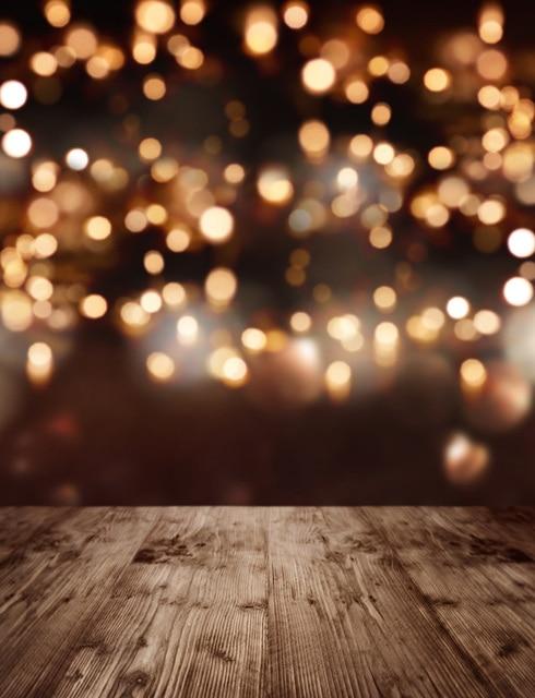 Holiday Lights Photo Backdrop Tutorial - Plain Vanilla Mom  |Light Photography Background