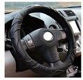 universal car  Steering wheel cover  leather with 38cm  imitation suede  sheepingkin  for car steering-wheel  steering wheel