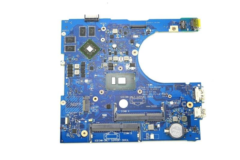CN-0YVT1C 0YVT1C YVT1C 100% Working Laptop Motherboard AAL15 LA-D071P W/ I7-6500U CPU & R5 M335 4G GPU For Dell Inspiron 15 5559