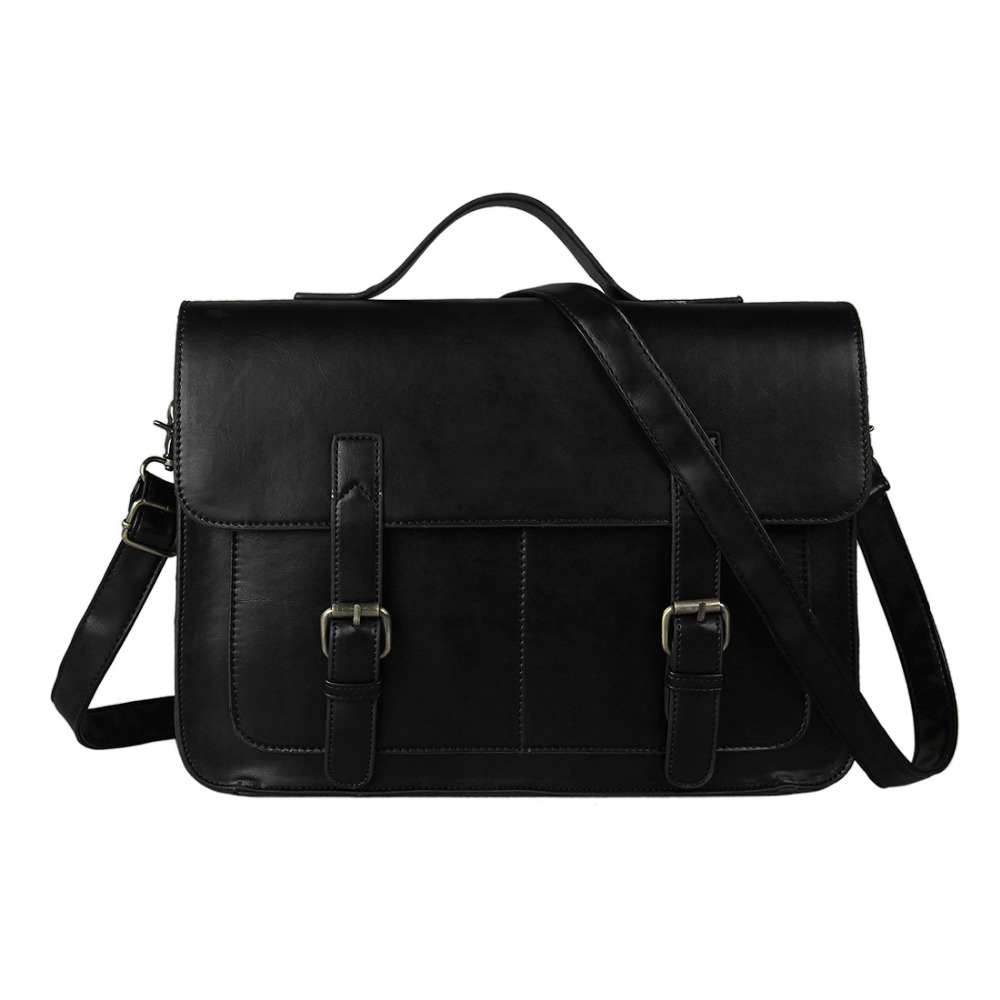 European style Document file Vintage Men Messenger Bags
