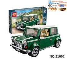 2016 neue lepin 21002 technik series MINI Cooper Modellbau Kits Minifiguren Blocks Bricks Spielzeug Kompatibel Mit legeod