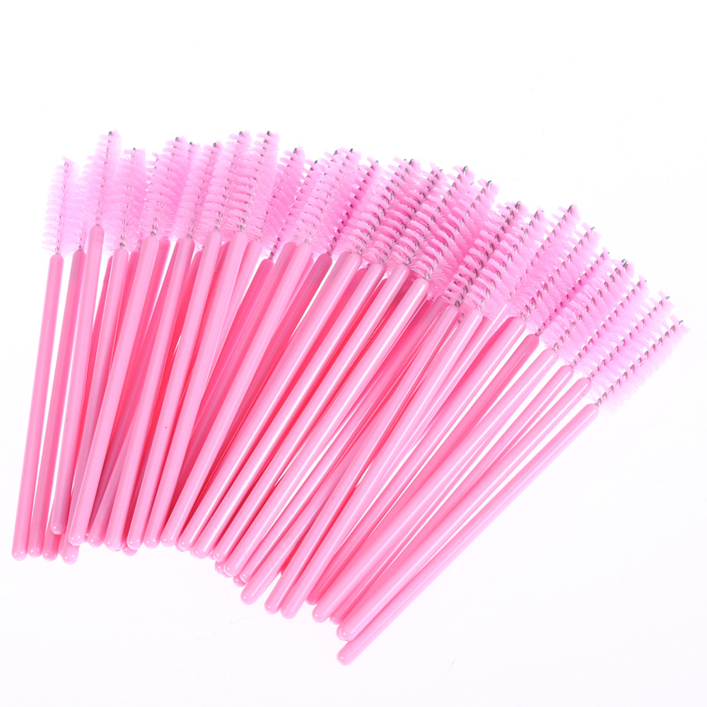 100pcs pack disposable eyelash brush mascara wands for Mascara with comb wand