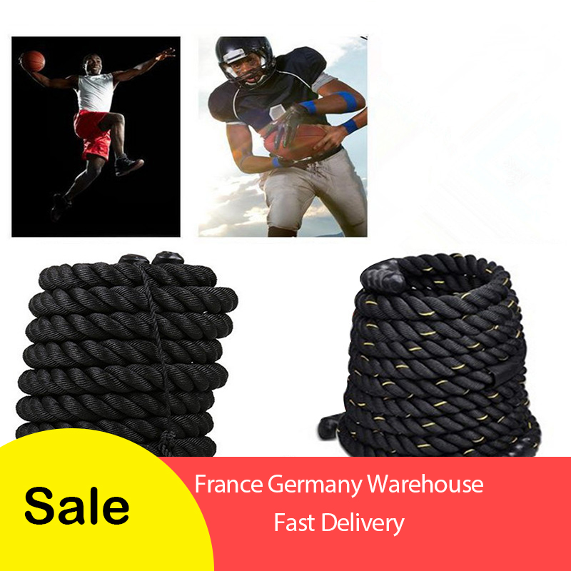Liplasting 1Pc Training Sport Rope Strike Rope Fitness Battle Rope Fitness rope For muscle training strength