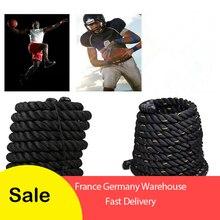 Liplasting 1Pc Training Sport Rope Strike Rope Fitness Battle Rope Fitness rope per allenamento muscolare/allenamento della forza HWC