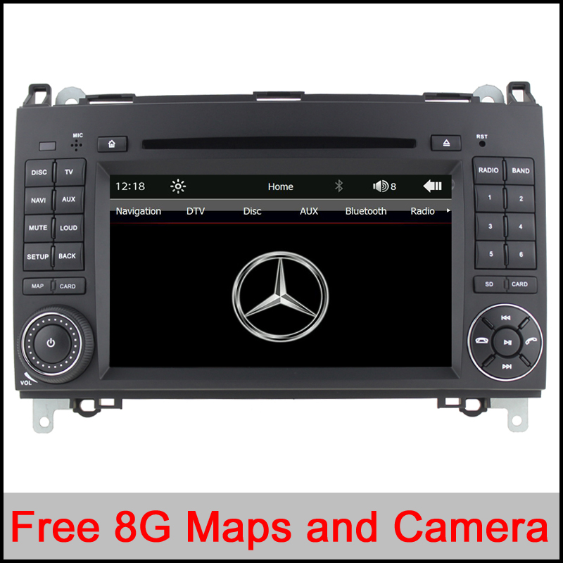Cheap touch capacitive screen car dvd gps for mercedes for Mercedes benz car stereo