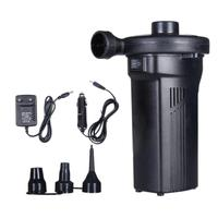 Electric Air Pump with 3 Universal Nozzles For Car Home Use/ Bed /Boat Inflation Quick Deflating or Vacuum Compression Bags