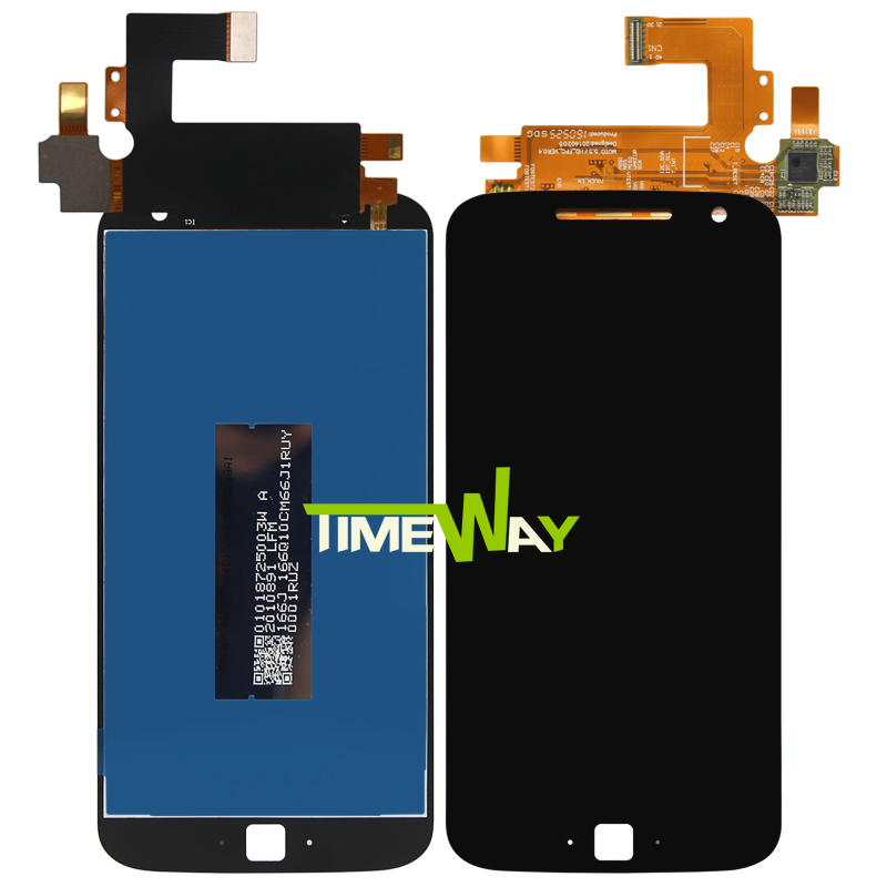5.5  For Motorola Moto G4 PLUS LCD Display with Touch Screen Digitizer Assembly new original lcd replacements for motorola moto g xt1032 xt1033 lcd display touch digitizer screen with frame assembly tools
