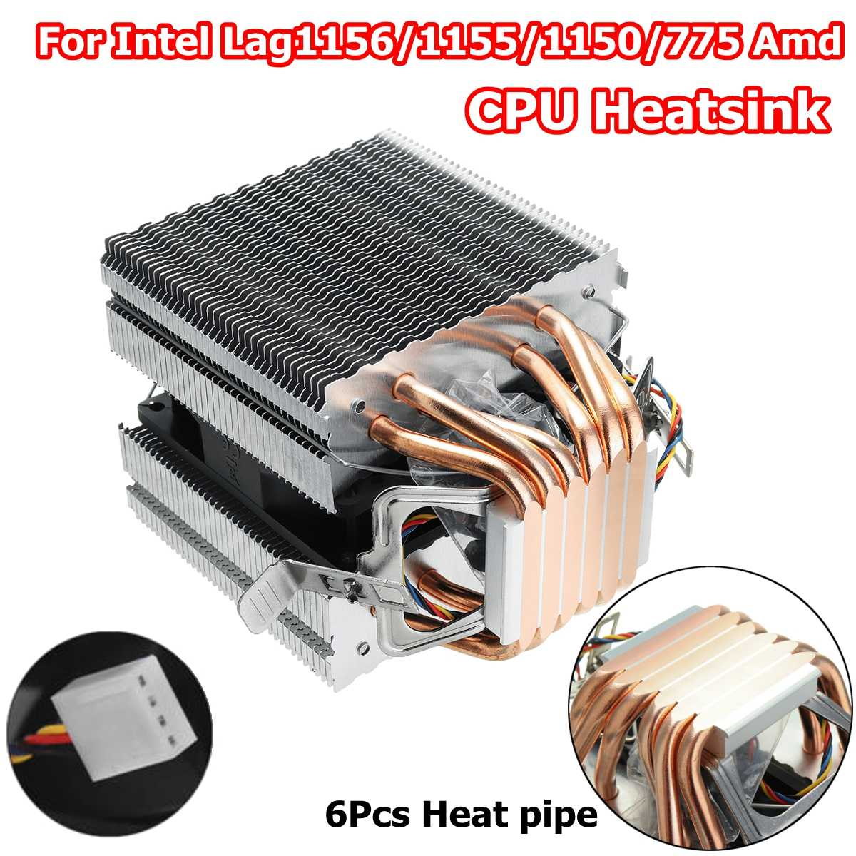 Detail Feedback Questions about 90mm Heat Pipe 6 Heatpipe