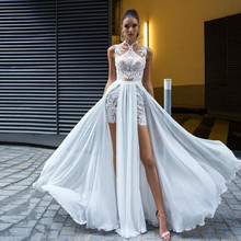 Two Lace Wedding Gown