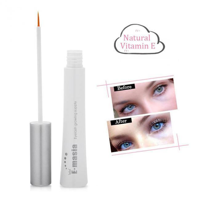0273aefef9d Natural Eyelash Growth Serum Gel Mascara Essence Eye Lash Enhancer Longer  Thicker Growth Treatments Makeup with Eyelash Comb