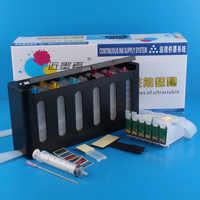 Système d'alimentation en encre continue kit universel CISS 6 couleurs avec accessoires réservoir d'encre pour EP-801A 802A 803A 803AW 702A 703A IC50