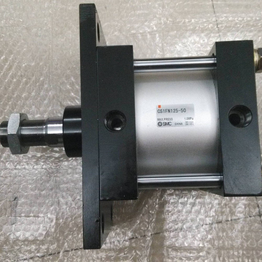 SMC CS1FN125-50 air cylinder pneumatic air tools SMC series smc cdrq2bw20 180 air cylinder pneumatic air tools smc series