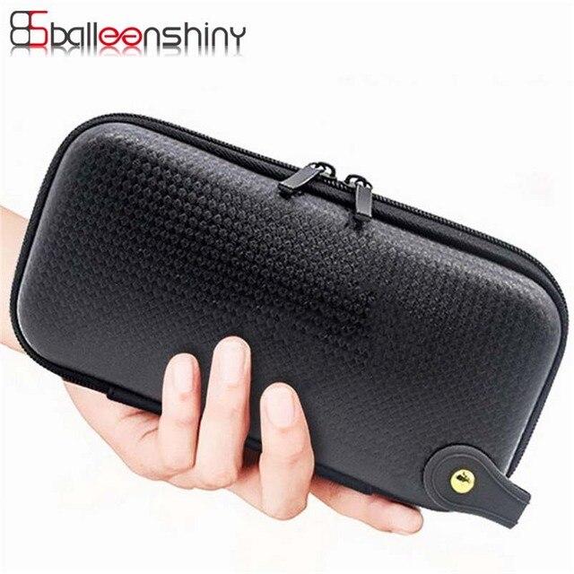 BalleenShiny Travel EVA Digital Storage Bag Data Cable Earphone Wire Pen Organizer Case USB Gadget Rangement Multifunction