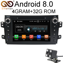 Android 8.0 8 Core 4G RAM Car DVD GPS For SUZUKI SX4 2006 2007 2008 2009 2010 2011 2012 WIFI Autoradio Multimedia Stereo