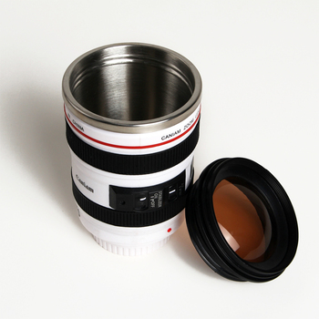400 ml Unique Camera Lens Drinking Glass 1
