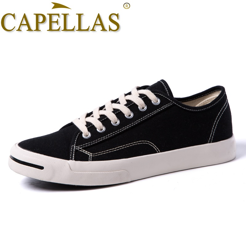 CAPELLAS Nieuwe Mens Casual Canvas Schoenen Mode Heren Canvas - Herenschoenen - Foto 5