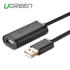 Image 1 - Ugreen US121 usb 2.0 تمديد كابل إشارة تضخيم متصل لاسلكي LAN سرعة كابل نقل بيانات 5/10/15/20/30 متر