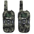 2pcs Walkie Talkie Kids Radio Retevis RT33 PMR 446MHz Scan VOX Call Tone CTCSS/DCS 2 Way Radio Amador Hf Transceiver A9117