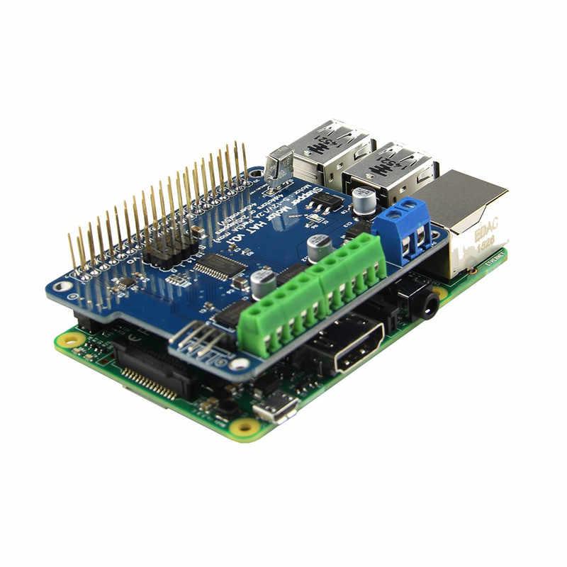 1 unidad nueva función completa Robot placa de expansión soporte Motor paso a paso Servo para Raspberry Pi 3B/2B/B +