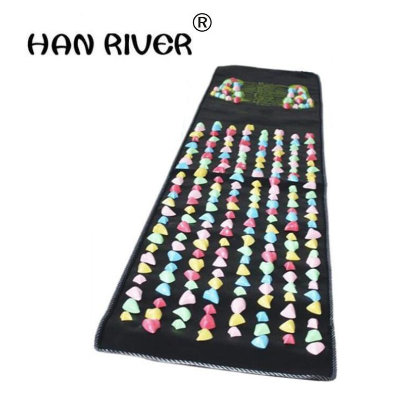 HANRIVER 2018 Hot Sale Product Sell Like Hot Cakes Foot Massage Mat The Road Of Health Foot Massager Color Stone Massage Blanket