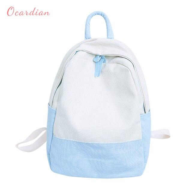 c1478045cff0 Ocardian backpacks SUMMER students school backpack backpack female for  school in korean style Panelled backpack men JL 40