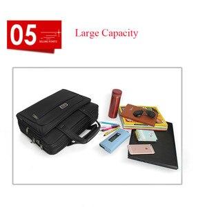 Image 5 - Casual Mens Laptop Bag Men Handbags Business Briefcase Women Shoulder Bag Computer Bags For Lenovo HP Dell Acer Samsung Macbook