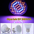 Cheapest LED Lamps for Plants LED Grow Light 6W E27 3528SMD 44Red:16Blue 85-265V For Hydroponics, Grow Tent , Free Shipping