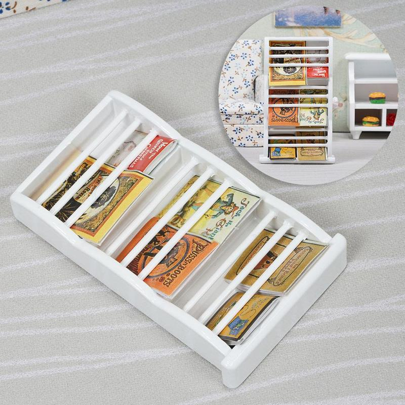 1:12 Dollhouse Miniature Paper Organizer DIY Miniatures Documents Organizer
