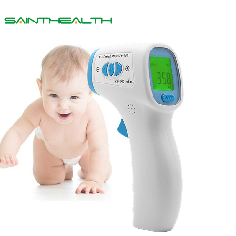 Brand auto forehead lcd non contact body water electronic baby infrared digital thermometer fever Adult digital non-contact care guucy infrared digital baby thermometer forehead non contact infrared lcd measure thermometer electronic adult body termometer
