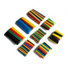 328pcs Polyolefin Assorted Wrap Wire Cable Insulated shrinkable sleeving Heat Shrink Tubing Tube Set