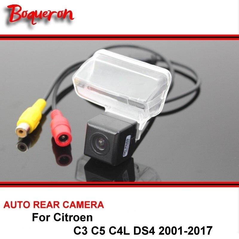 Pour Citroen C3 C5 C4L DS4 DS 4 2001-2017 Nuit Vision Arrière vue Caméra de Recul Caméra De Voiture Caméra de Recul HD CCD Véhicule Caméra