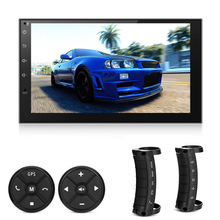 Universal Android 6 0 WiFi Mirror Link Car Multimedia Players 7 GPS Navigation Auto FM font