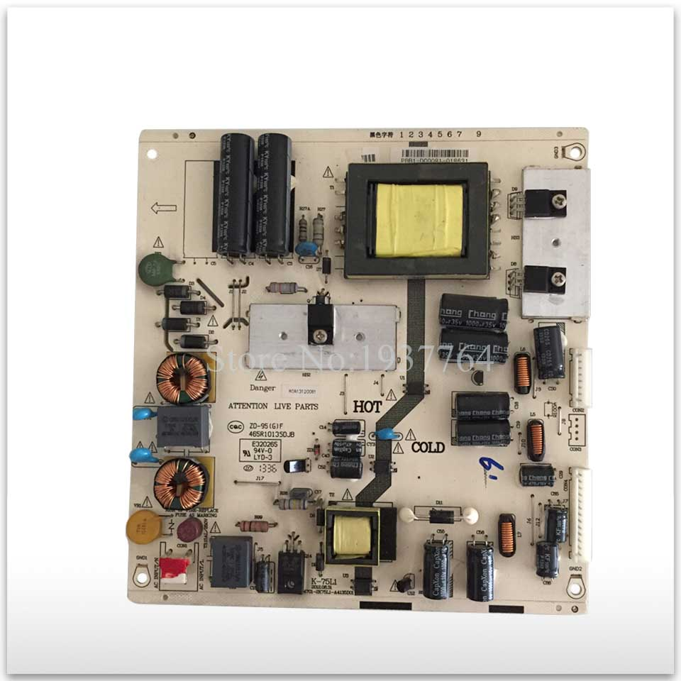 original power supply board USED for TCL LE32D99 K-75L1 465-01A3-B2201G good working stylish round neck printed short sleeve men s t shirt