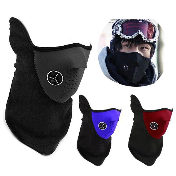 windproof Cycling Mask riding bicycle fleece winter warm half face winter Ski mask Motorcycle sport mask Dust Protecting hot sale multi function dust proof windproof cycling half face neck mask