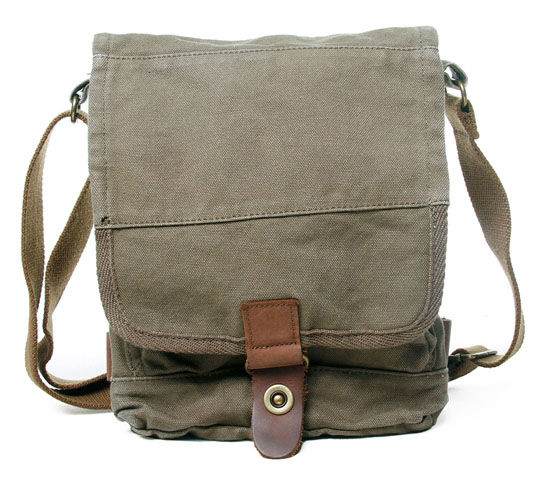 Free Shipping! Thick canvas Sling Bag Men's Messenger Unisex ...