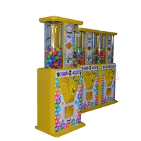Factory Cheap Price Hot Sale Coin Operated Arcade Games Electronic Redemption Prize Candy Capsule Toys Vending Machine
