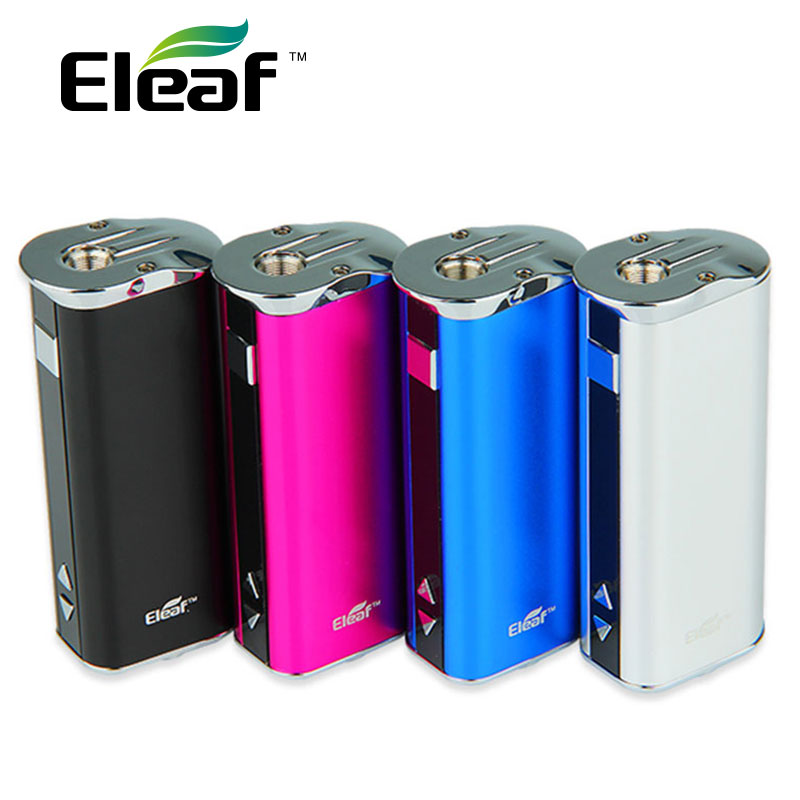 Authentic Eleaf iStick Mod 30W Battery 2200mAh with VV/VW modes OLED Screen Battery/ Battery with 510-eGo adapter E-cig Vape authentic 215w ijoy limitless lux dual 26650 battery 8400mah big capacity mod e cig fit limitless rdta plus limitless lux